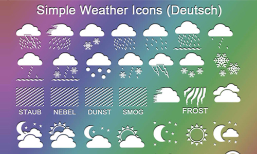 30 sets of free weather icons naldz graphics