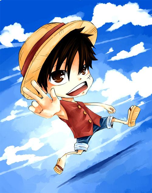 Chibi Luffy :D