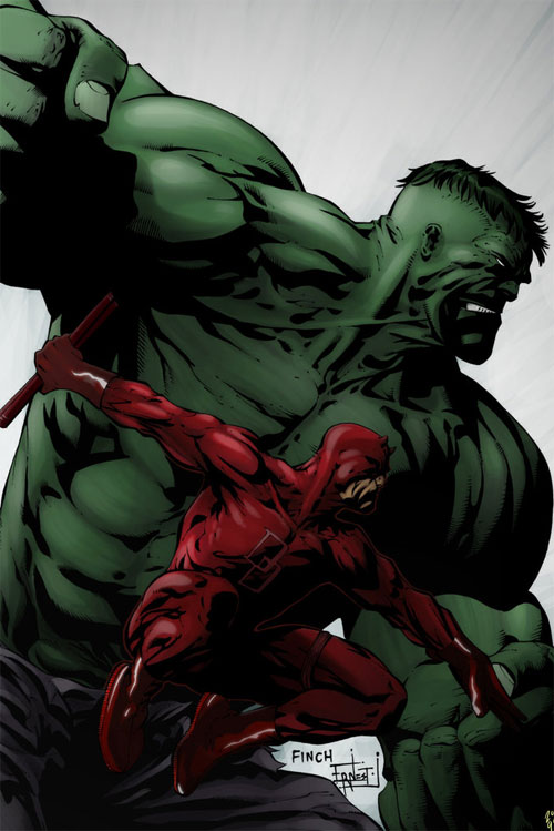 Hulk and Daredevil