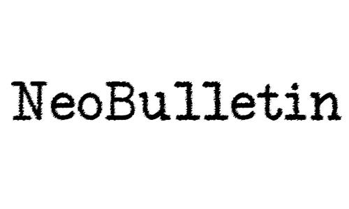 NeoBulletin Trash Font