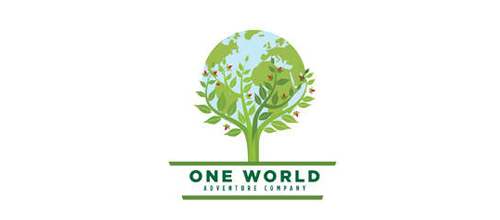 One World Adventure Company logo