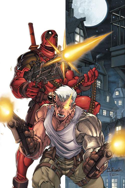 Deadpool-Cable promo piece