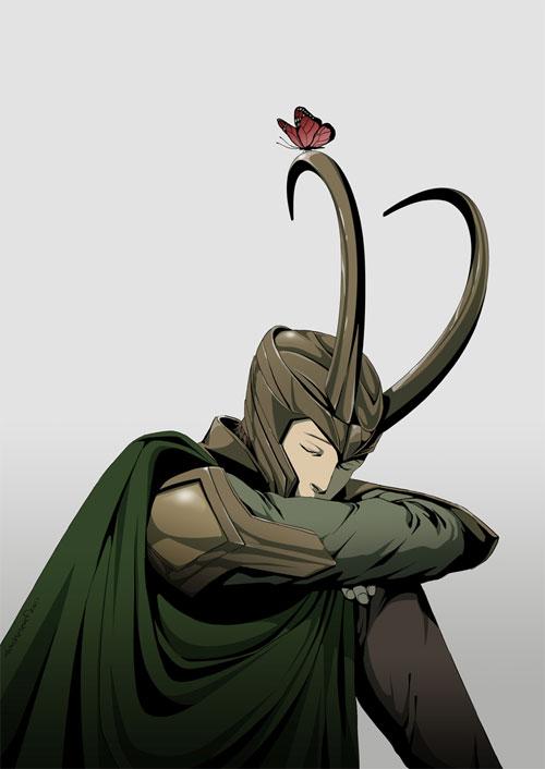 Sleeping Loki