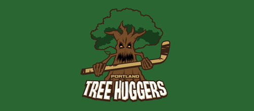 Portland Tree Huggers logo
