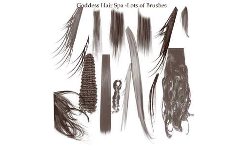 hair commercial brushes