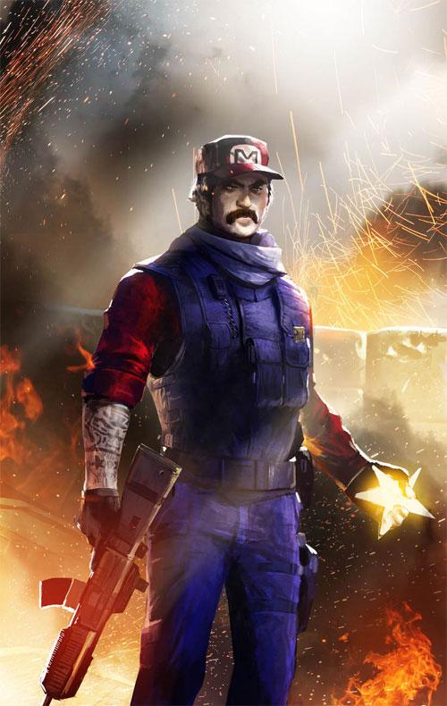 Sargent Mario