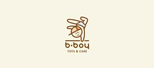 B-boy logo