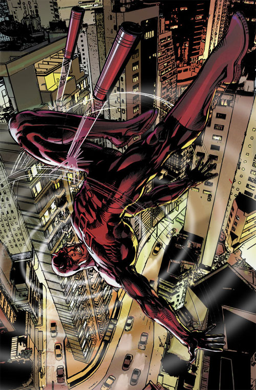 Daredevil Alternate cover Finish