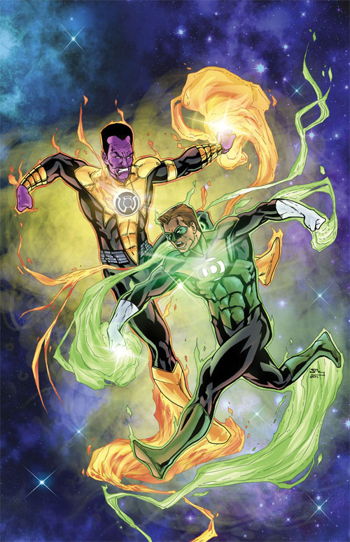 Green Lantern vs Sinestro PH