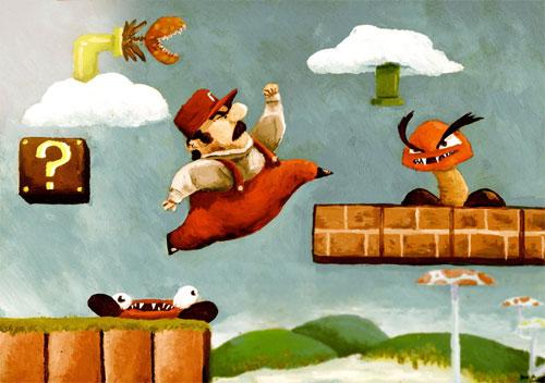 Super Mario Bros. PRINT