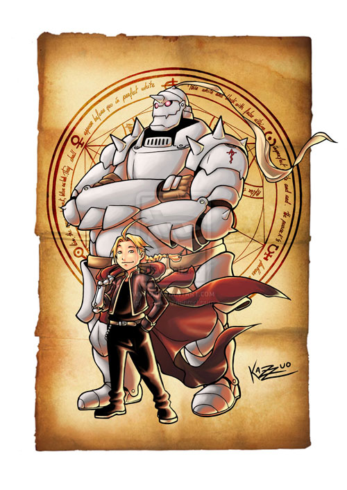 Full Metal Alchemist by Kazuo