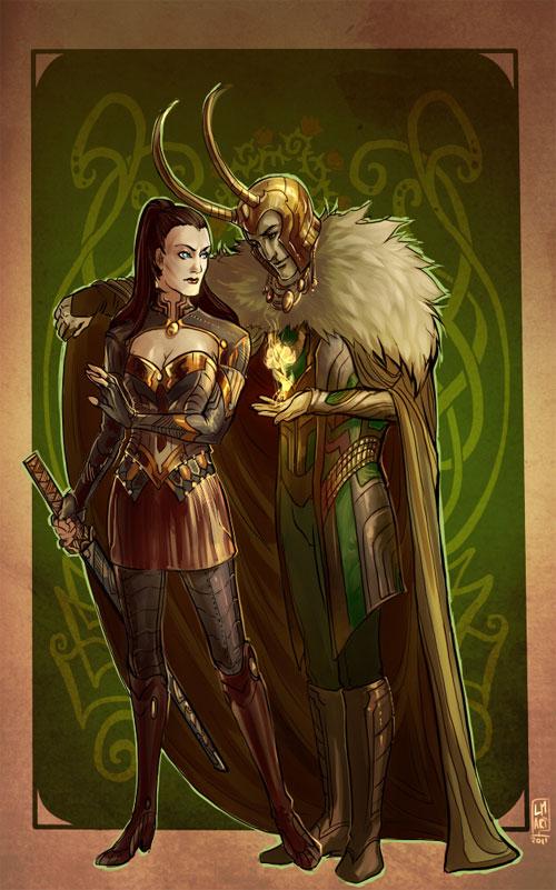 Mischievous Loki