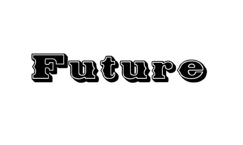 Future West font