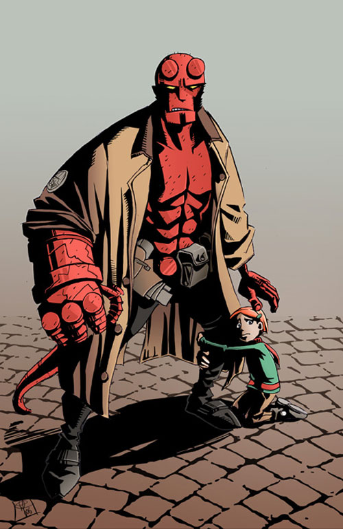 Hellboy guardian angel