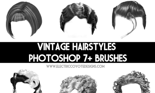 retro Hair Brushes