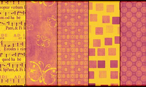 Warm Pink Grunge Pattern