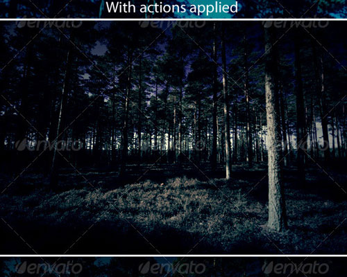 8 Scary Actions for Adobe Photoshop