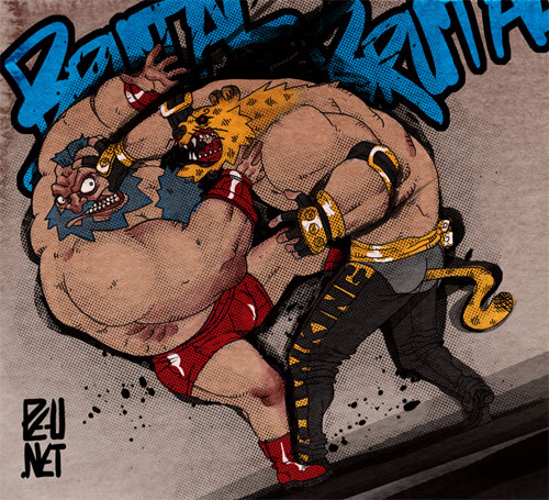 Zangief vs King