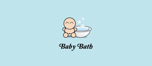 baby bath logo