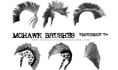 Mohawk hairs
