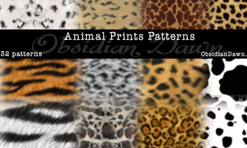 Animal Prints PS Patterns