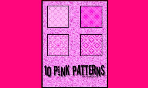10 Pink Patterns