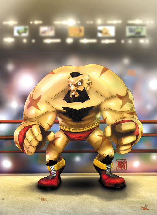Contest Entry: Zangief