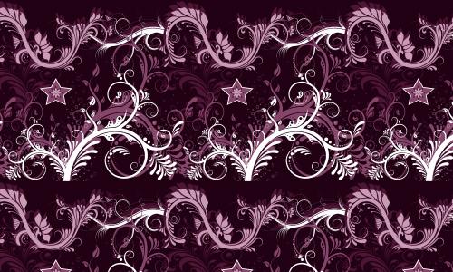 Elegant Swirls Star