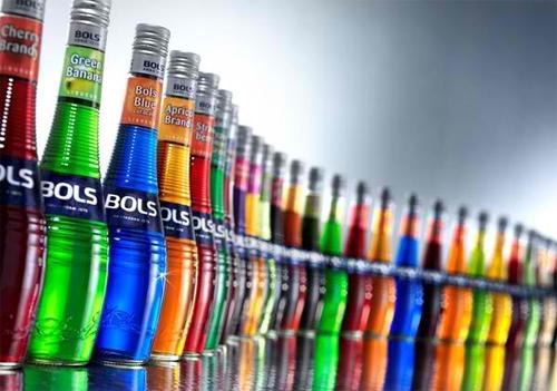 BOLS Liqueur bottles