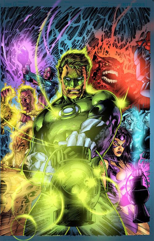 Green Lantern for fun