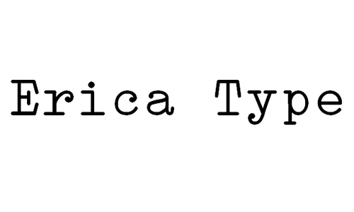 Erica Type font
