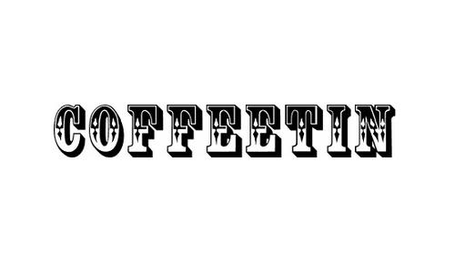 CoffeeTin Initials font