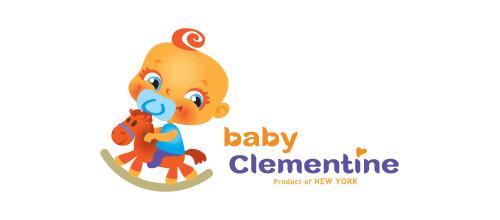 Baby Clementine logo