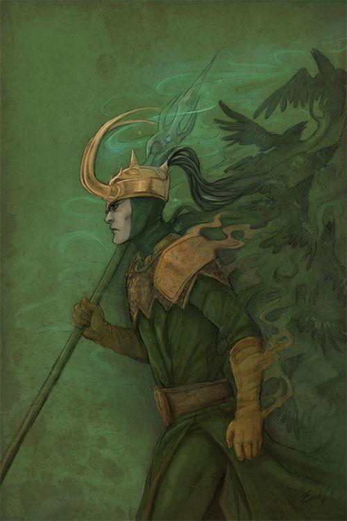 Blazing Loki