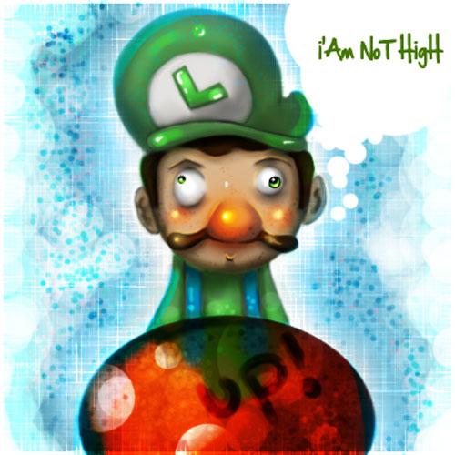 Luigi's not high
