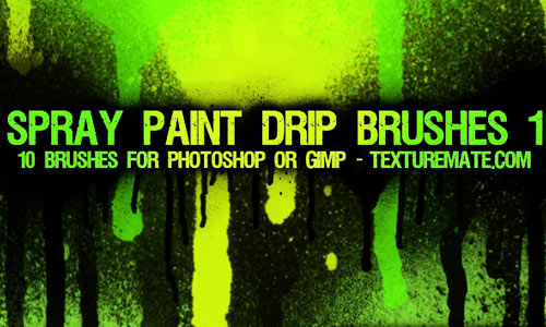 Radiant Drip Photoshop Brushes