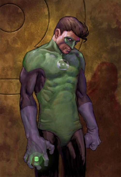Cool Green Lantern