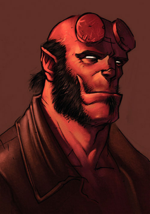 Hellboy by Tony Moore