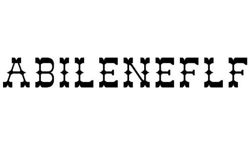 abileneflf font