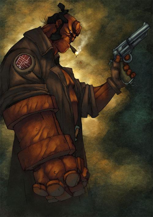 Smokey Hellboy