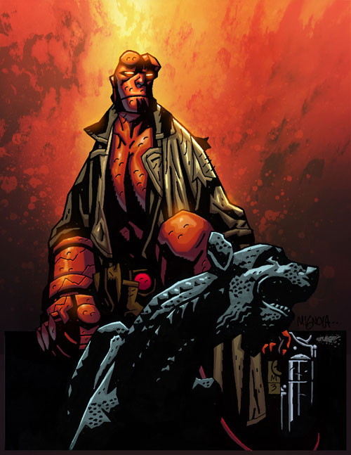 Hellboy-Mignola-Colored