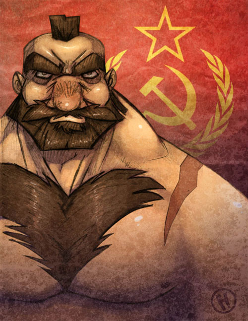 Zangief Sketch