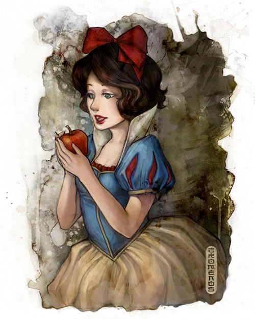 Snow White - Colored