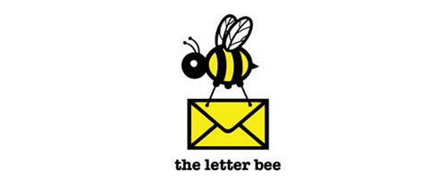 the letter bee logo