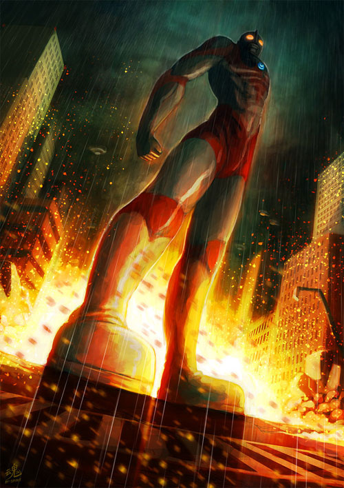 Ultraman the Protector of Earth