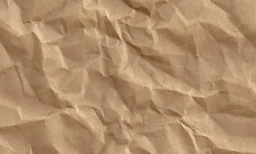 Bewildering Crumpled Paper Texture