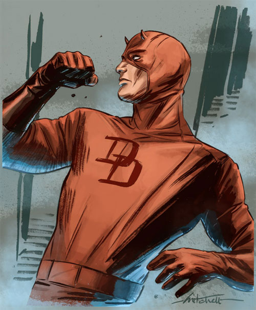 Daredevil Colored