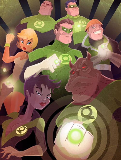 Green Lantern Corps REDUX