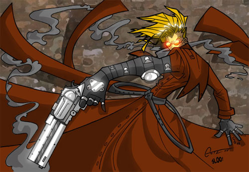 Gutz's Trigun colored
