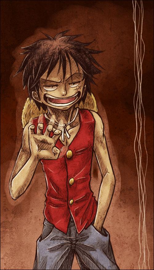 Pervert Luffy